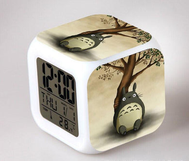 Totoro Digital Anime Alarm Clock V9