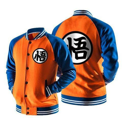 Dragon Ball Z Jersey Jacket 3 Colors / No Hoodie