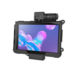 RAM-HOL-SAM57PCLU RAM Skin Combo-Locking Powered Cradle for Samsung Tab Active Pro-Image-1
