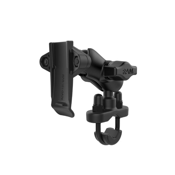 RAM-B-149Z-A-GA76U RAM Spine Clip Garmin Mount with Handlebar U-Bolt Base-image-1