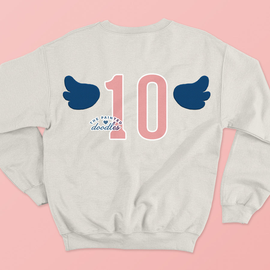 Fly! Sweatshirt (Off White) - No. 10