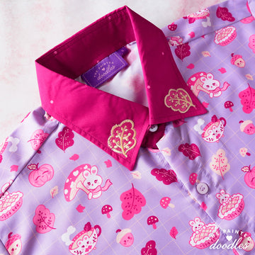Cozy Autumn Buns Shirt - Lilac