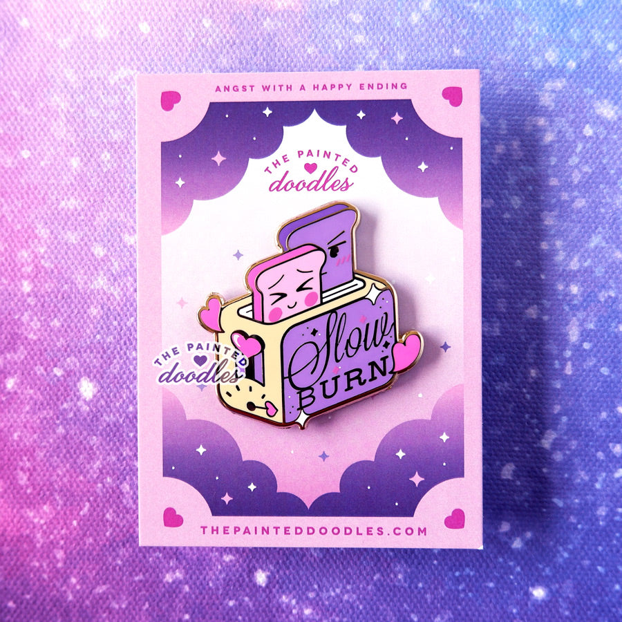 Slow Burn Enamel Pin
