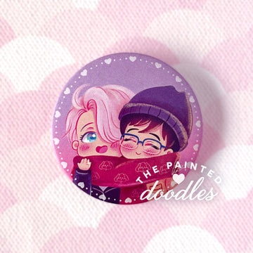 Cuddle Cuties Button Badge