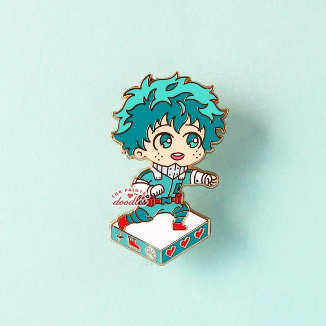RPG Power Enamel Pin