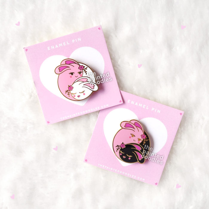 Love Buns Enamel Pins {SET OF 2}