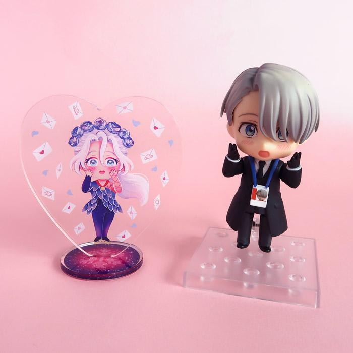Acrylic Stand: Fan mail from Japan