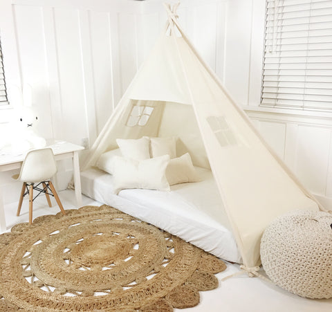 Canopy Bed Tent no Doors