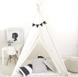 Kids Play Tent Handmade in 100% Natural Canvas