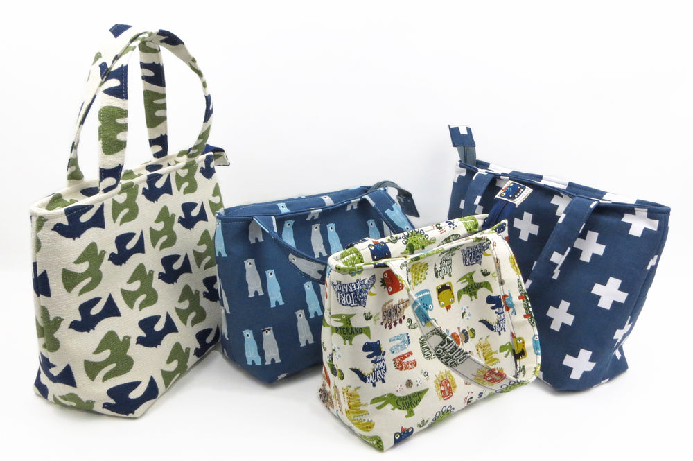 Quick Zip Lunch Bag Sewing Pattern