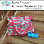 Retail Therapy Reusable Shopping Bag Sewing Pattern