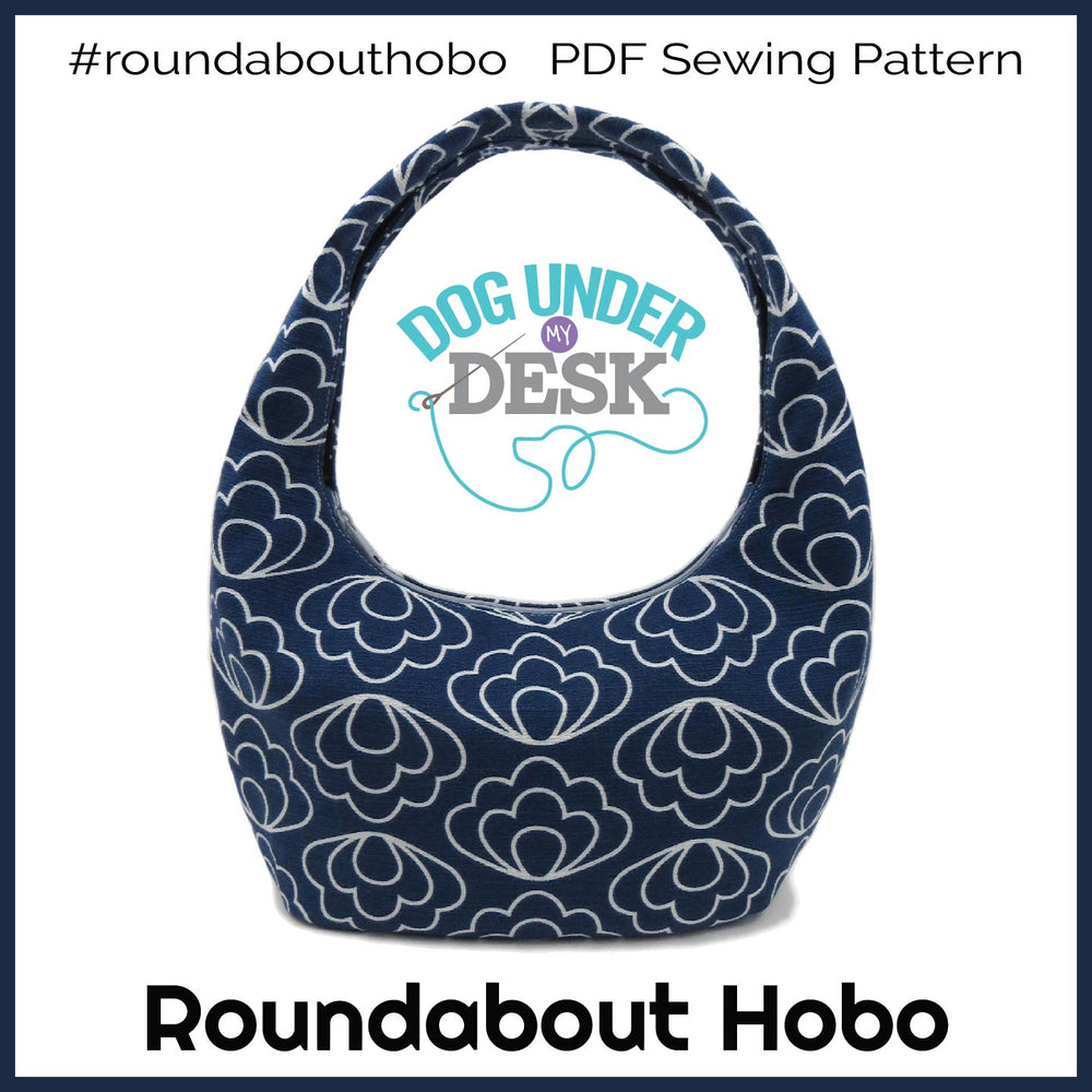 Roundabout Hobo Bag Sewing Pattern