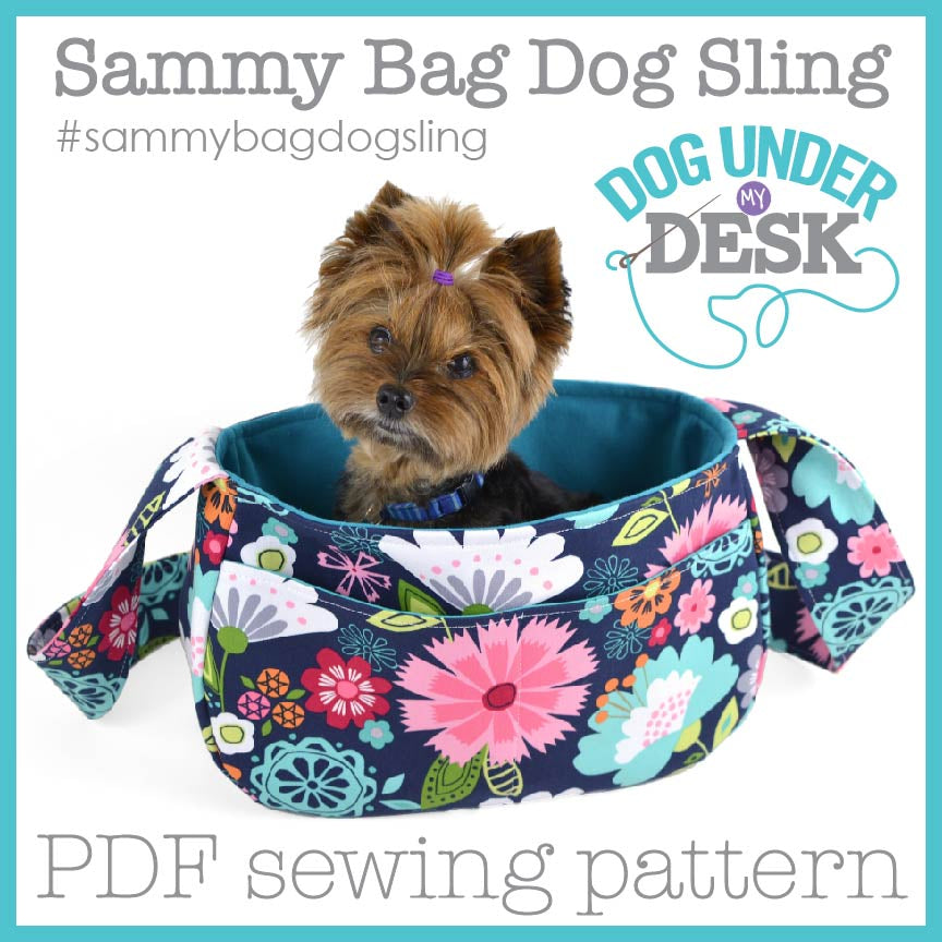 Sammy Bag Dog Sling Sewing Pattern