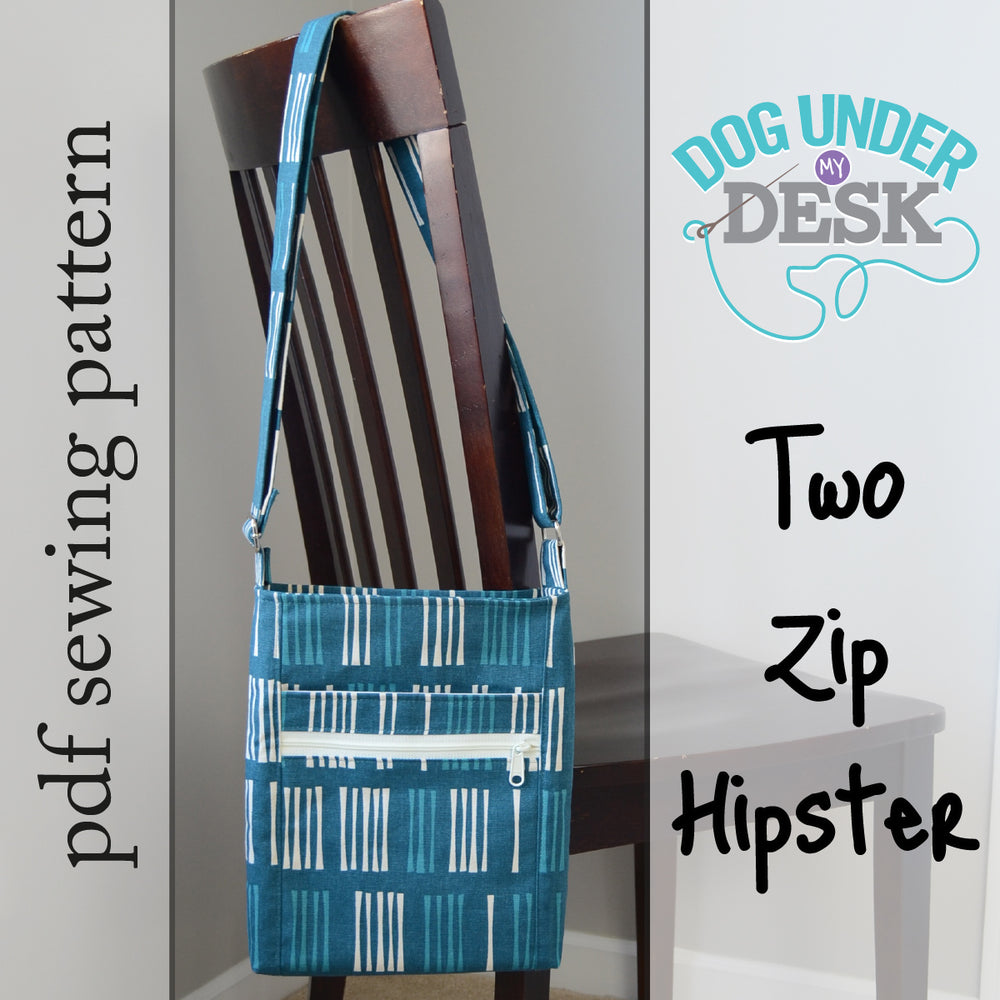 Two Zip Hipster Sewing Pattern