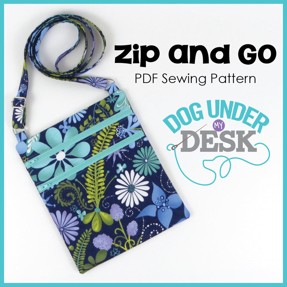 Zip and Go Sewing Pattern