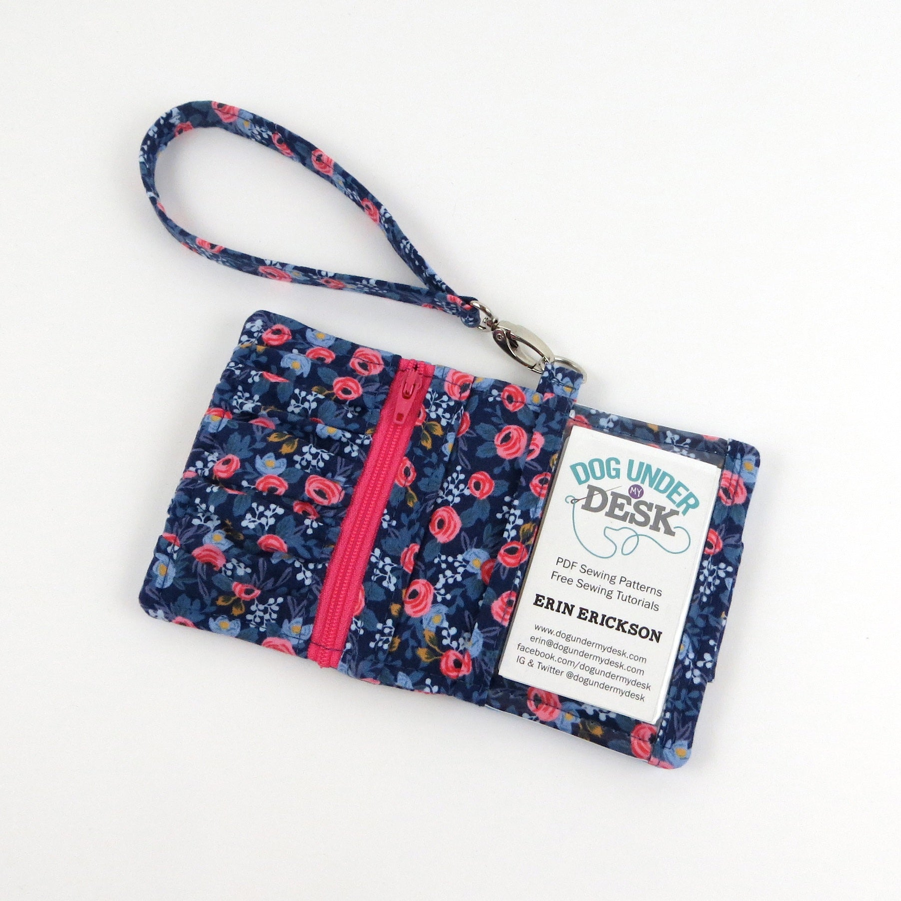 Get Carded Wallet Sewing Pattern – dogundermydesk