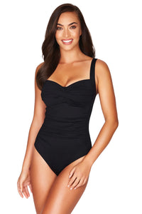 Sea Level Essential Twist Front Swimsuit