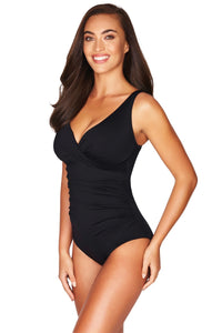 Sea Level Essential Cross Front Swimsuit