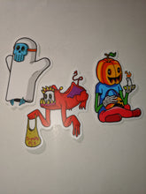 Load image into Gallery viewer, Halloween Sticker Pack Vol. I