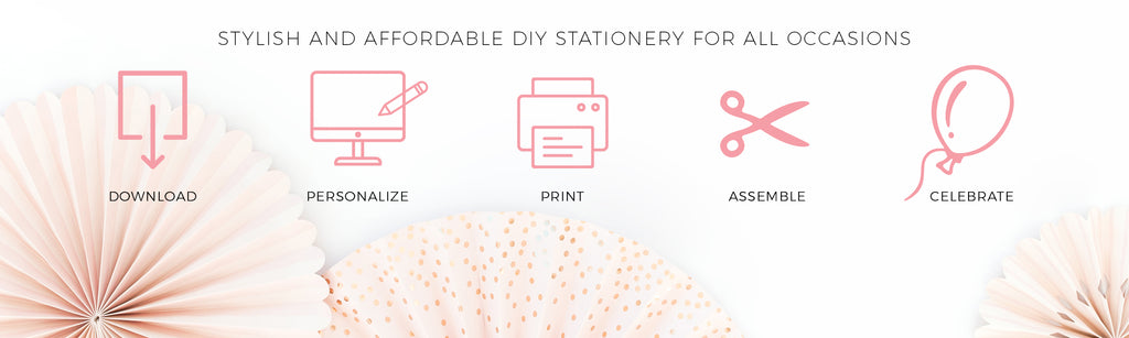 Stylish and Affordable DIY Stationery for all Occasions