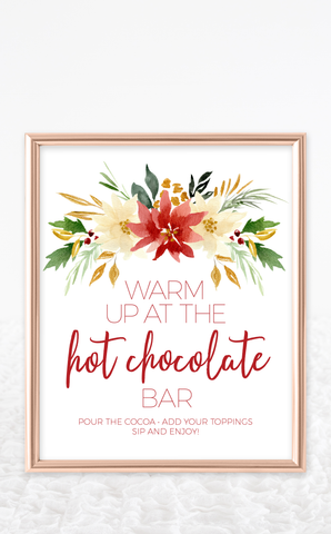 Christmas Hot Chocolate Bar Kit