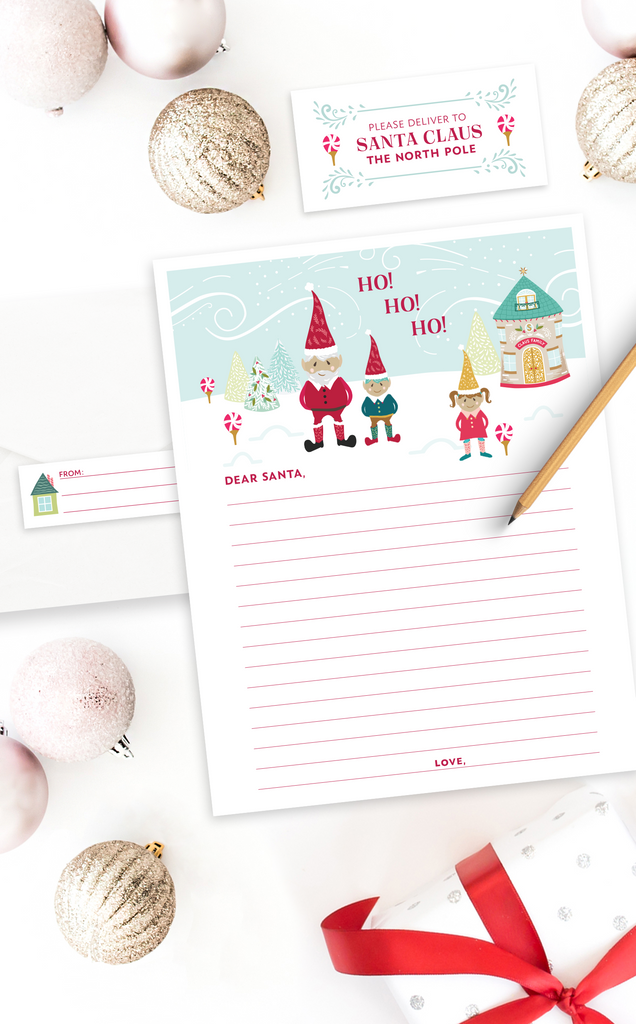 Printable Christmas Letter to Santa