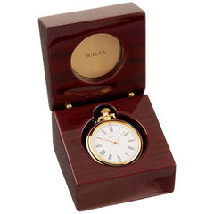 2006C - Bulova Ashton Pocket Watch Desk Clock