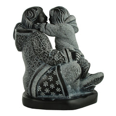2509A - Birks Business Collection Deluxe Inuit Mother and Child Sculpture