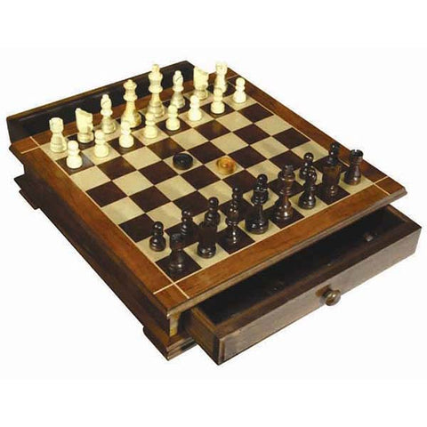 3508B - Birks Business Collection Chess and Checkers Set