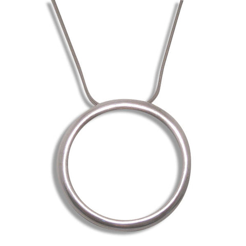 4005C - Birks Business Collection Large Circle Pendant