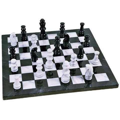 4008A - Birks Business Collection Marble Chess Set