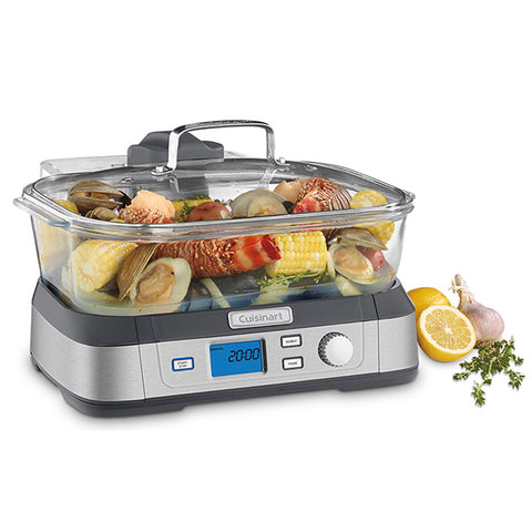4012B - Cuisinart CookFreshTM Digital Glass Steamer