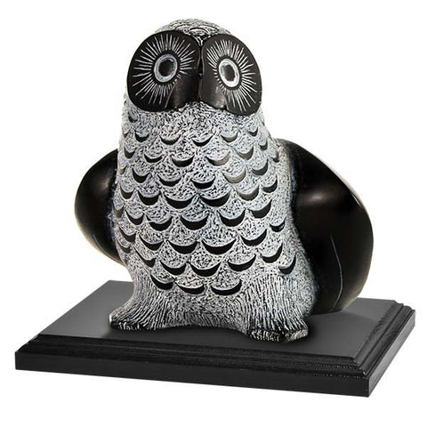 B0501 - Birks Business Collection Deluxe Inuit Owl Sculpture