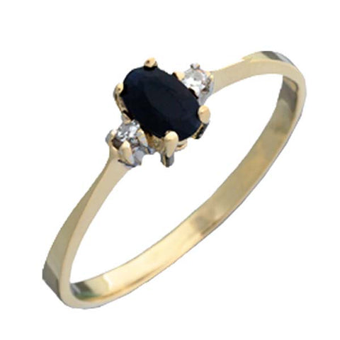 C4001 - Marlo Sapphire Ring for Ladies