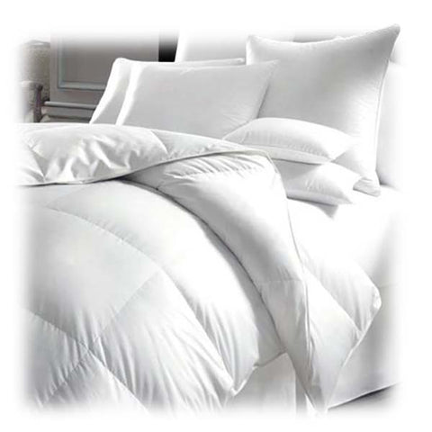 E1501 - Milano SilverClear T250 Cotton Duvet with Microgel fill Queen - White