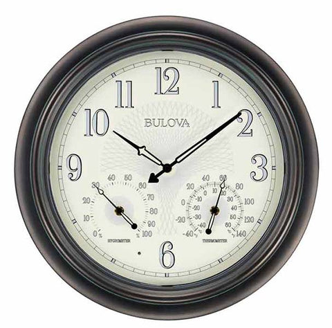 E1502 - Bulova Weather Master Wall Clock