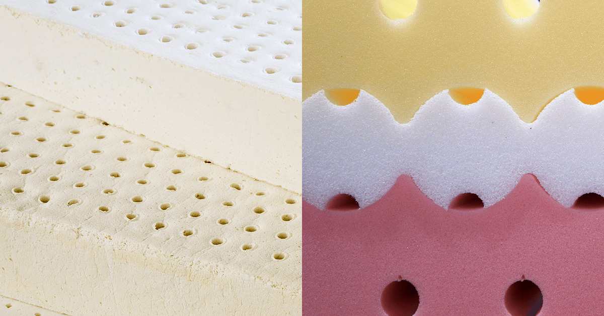 Latex vs Memory Foam Mattresses | MyEssentia com