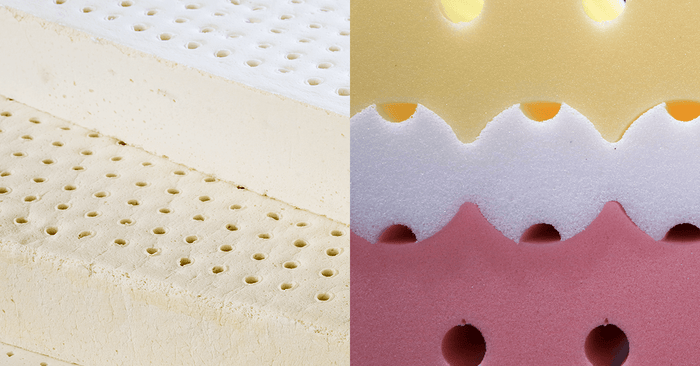 Latex vs Memory Foam Mattresses