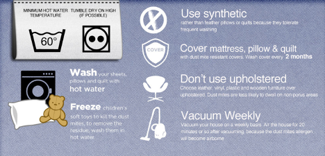 remove allergens from a mattress