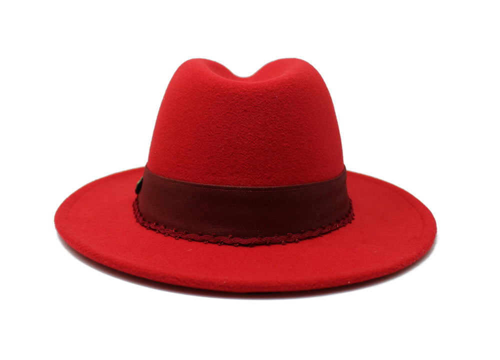 House of Hatters- Arabella Womans Fedora 6