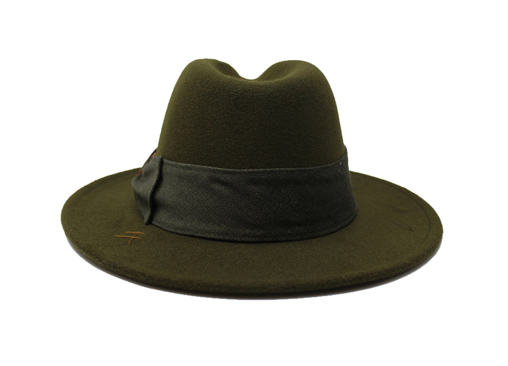 House of Hatters- Ian Mens Fedora 5
