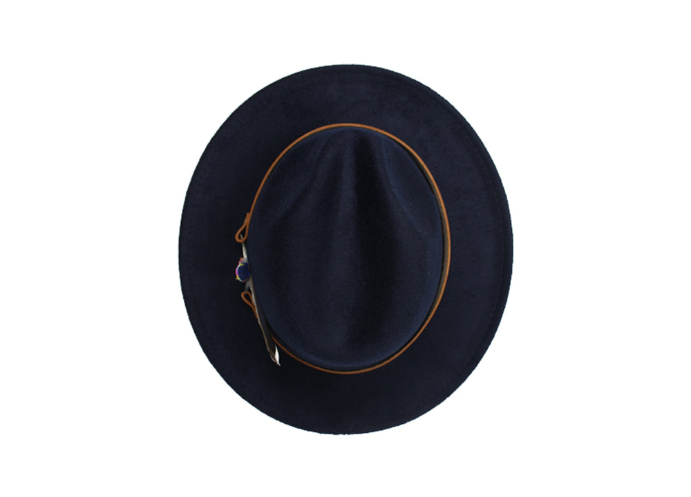 House of Hatters- Leonardo Mens Fedora 8