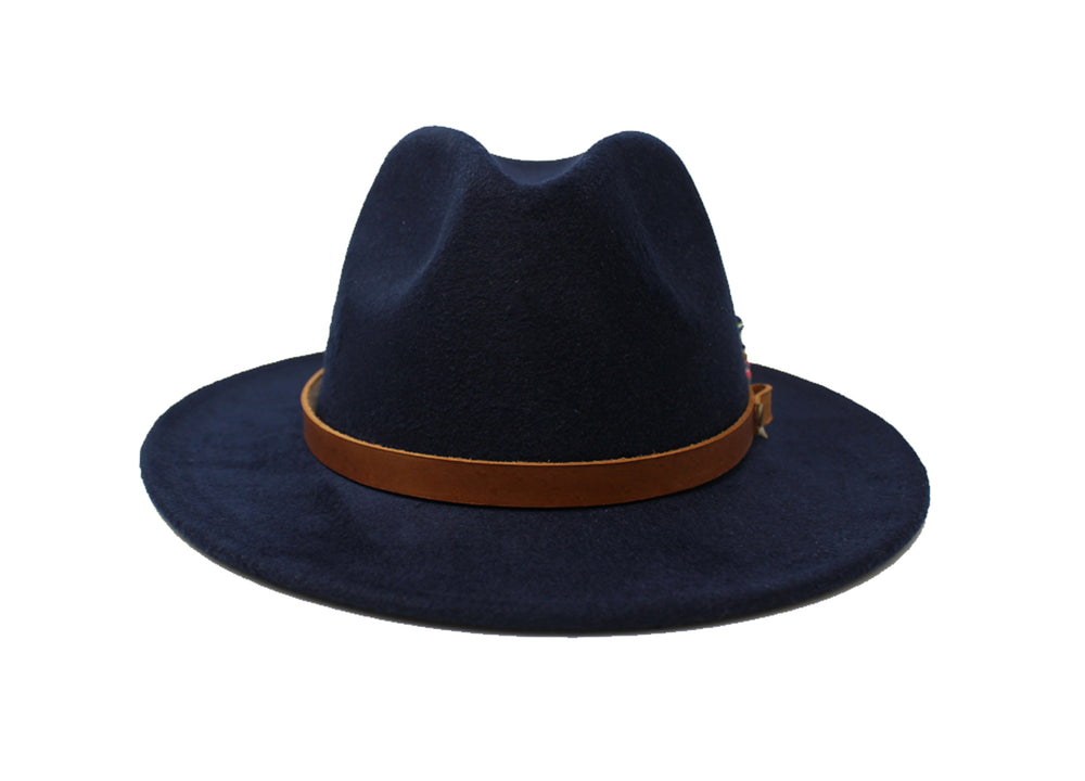 House of Hatters- Leonardo Mens Fedora 2