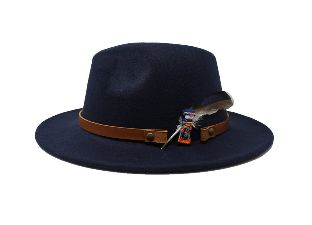House of Hatters- Leonardo Mens Fedora 1