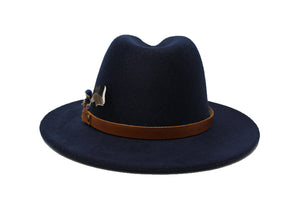 House of Hatters- Leonardo Mens Fedora 5