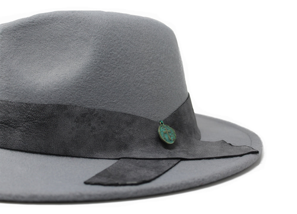 House of Hatters- Mateo Mens Fedora 8
