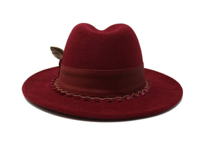 House of Hatters- Valeria Womans Fedora 5