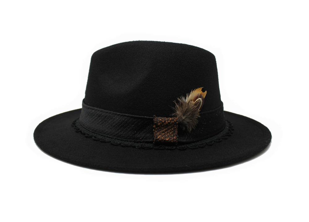 House of Hatters- Vicente Mens Fedora 1