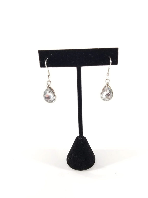 One Heart To Another Earrings-Silver