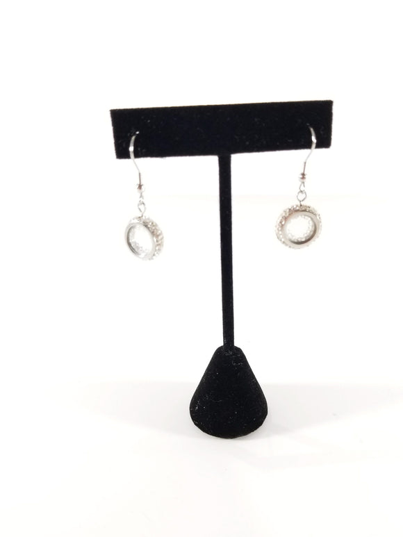 Good Vibes Earrings-Silver